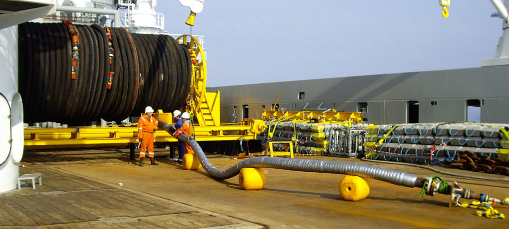 ewt supply hoses oil fuel bunkering couplings